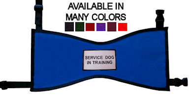 Service Dog In Training Vest Pockets Available Raspberryfieldcom